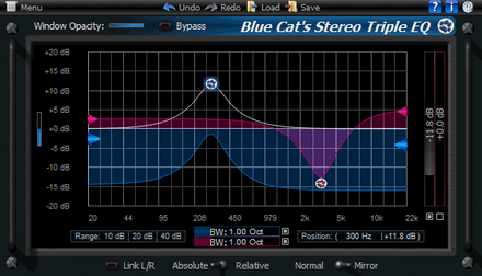 Blue Cats Triple EQ 3.4