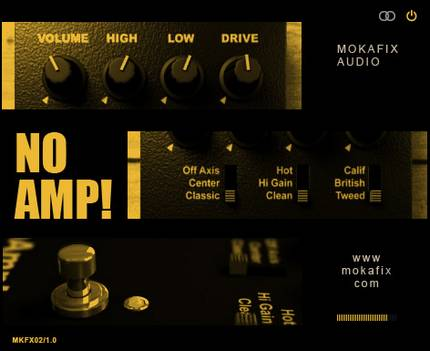 Mokafix Audio NoAmp! v1.1