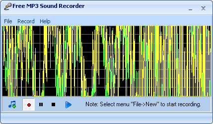 Free MP3 Sound Recorder 1.9