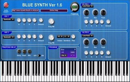 Blue Synth PM