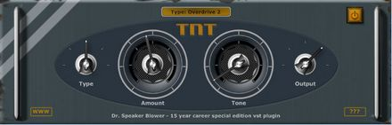 Dr.Speaker Blower TNT