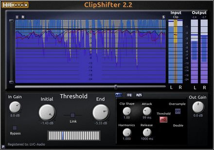 LVC-Audio ClipShifter v 2.2