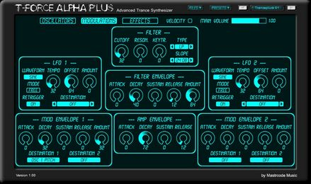 Mastrcode Music T-Force Alpha Plus v1.1.1