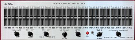 Sir Elliot 35-Band Mastering Vocal Equaliser